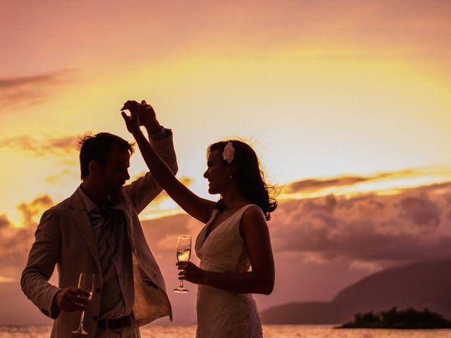 O casamento de Adriana e Wesley