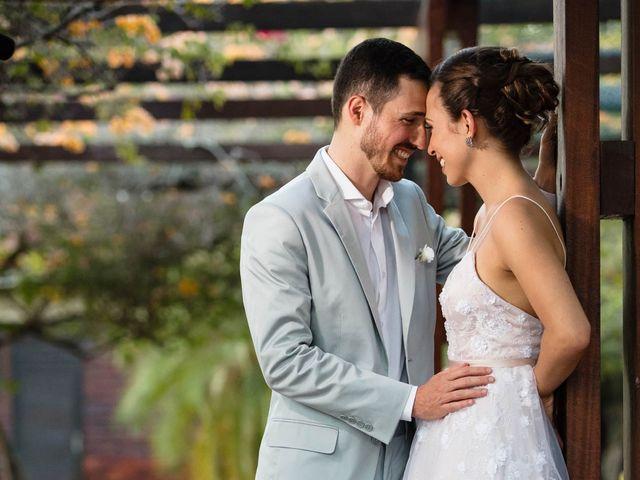 O casamento de Julia e Fabrício