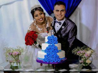 O casamento de Cindy e Gideão