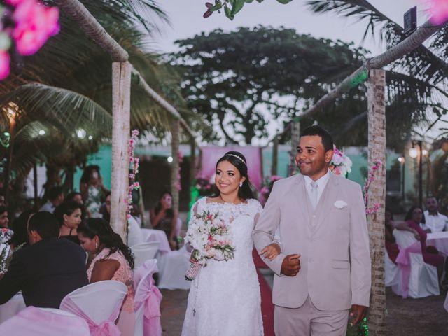 O casamento de Luísa e Oziel