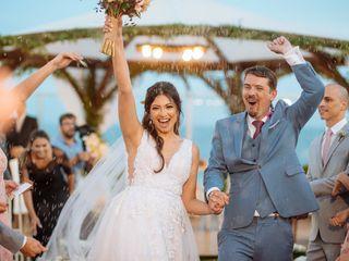 O casamento de Poliana e Lorenzo
