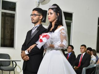 O casamento de Natália  e Jeconias