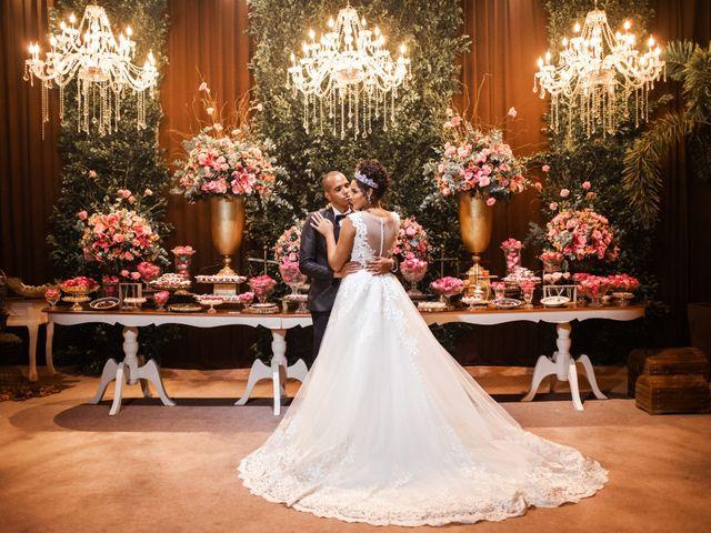 O casamento de Monique e Leonardo