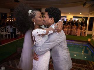 O casamento de Laiz e Mayombe
