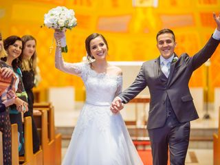 O casamento de Barbara e André