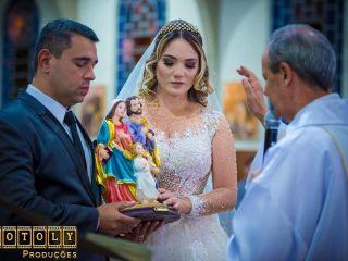 O casamento de Adriana e Roger