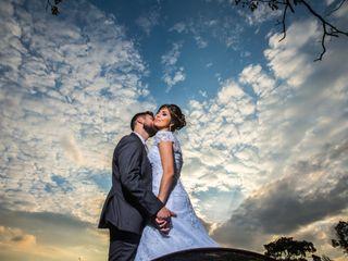 O casamento de Graziele e Mauricio
