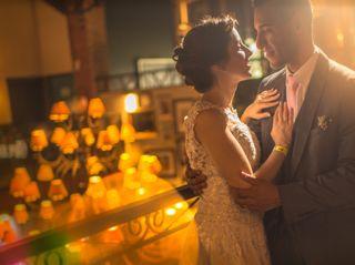 O casamento de Julia e Maxwell