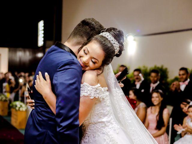 O casamento de Giselle e Junior