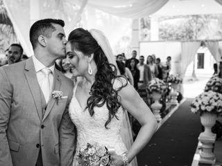 O casamento de Camila Anjos e João