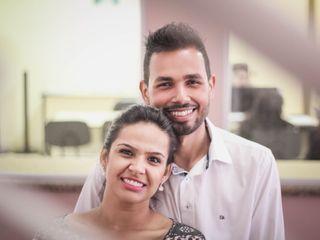 O casamento de Itamara e Edgar