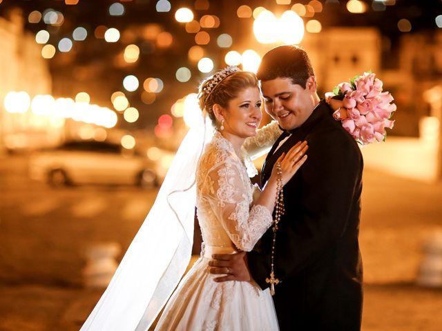O casamento de Rosalina e Victor