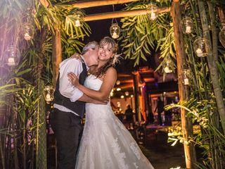 O casamento de Giselle e Adelio