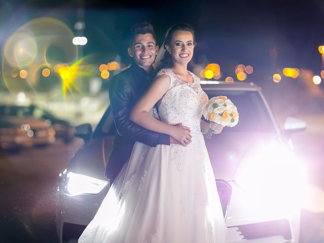 O casamento de Tatiane e Hamilton