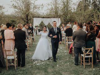 O casamento de Louise e Brian