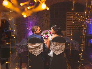 O casamento de Gisele e Alessandro