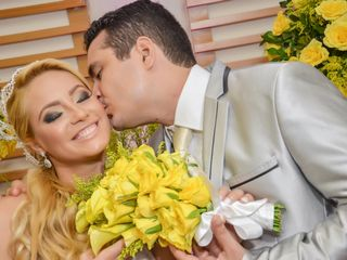 O casamento de Itana e Leo