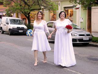 O casamento de Alice e Joyce