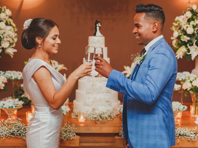 O casamento de Evellyn e Daniel
