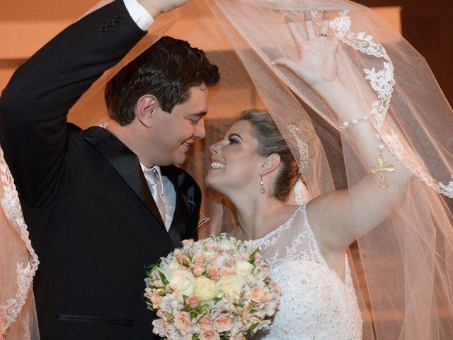 O casamento de Juliana e Fabrício