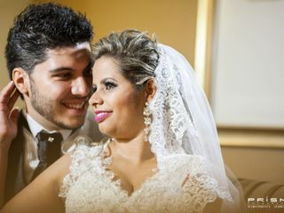 O casamento de Gizele e Vagner