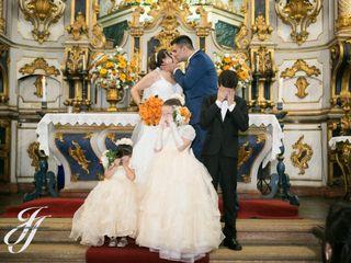 O casamento de Fabíola e Filipe