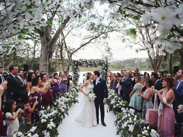 O casamento de Alyne e André