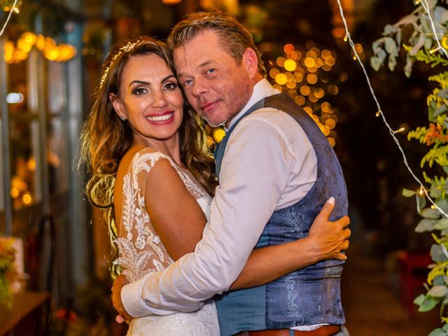 O casamento de Detlef e Yeda