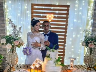 O casamento de Izabel e Francisco