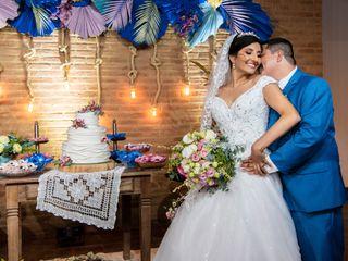 O casamento de Michelle e João