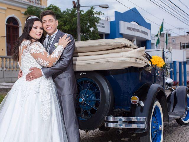 O casamento de Ana Caroline e Jetson