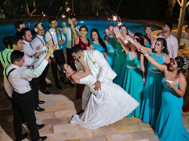 O casamento de Priscila e Max