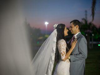 O casamento de Karla e Héber