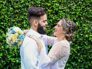 O casamento de Isabel e Felipe