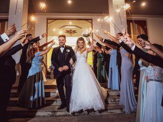 O casamento de Diani e jovane