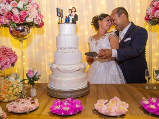 O casamento de Paula e Ederson