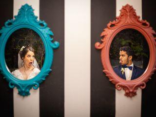 O casamento de Fernanda e Israel