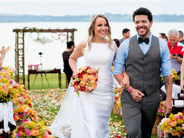 O casamento de Aline e Diego