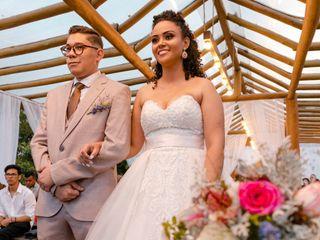 O casamento de Samantha Carmona e Isaías junior