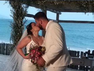 O casamento de Vanessa e Willian