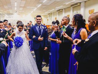 O casamento de Elaine e Rodrigo