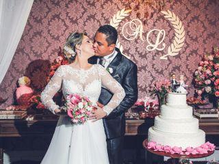 O casamento de Lucélia e Allan