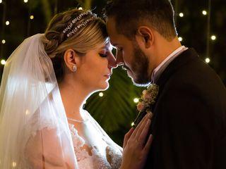 O casamento de Aline e Oliver