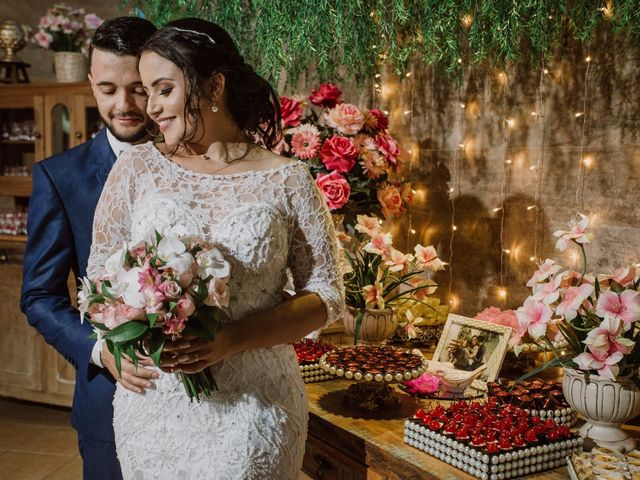 O casamento de Aline e Everson