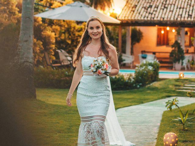 O casamento de Carol e Vitor