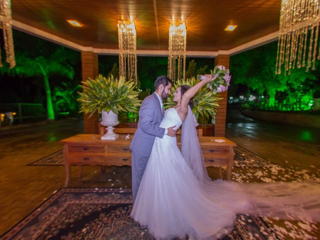 O casamento de Jacqueline e Renato