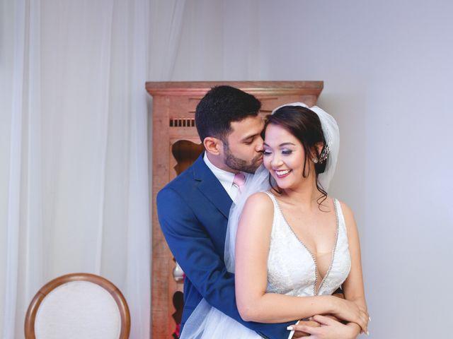 O casamento de Yukari e Henrique