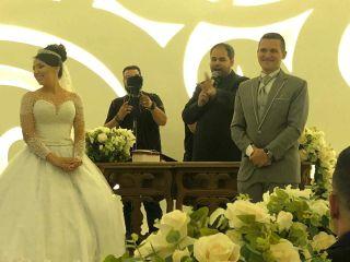 O casamento de Gilberto  e Agatha