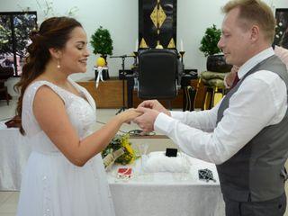 O casamento de Fernanda Larsen e Peter Larsen