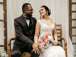 O casamento de Tamires e Marcelo